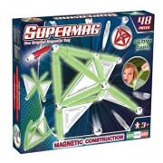 Supermag Glow - Set constructie luminos 48 piese