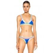 KIINI Tuesday Poly-Blend Bikini Top in Blue. - size M (also in S)