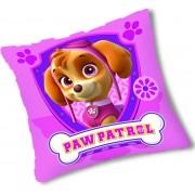 Paw Patrol kussen vierkant roze 30x30cm