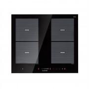 Klarstein Virtuosa Flex 60, indukciós főzőlap, 4 zóna, 7200W, beépíthető, fekete (DSM4-)