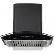 Hindware Nevio BLK 60 Auto Clean Wall Mounted Chimney(Black 1200 CMH/m3/h)