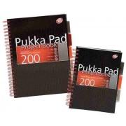 Project Book A5, 100 file 80g/mp, cu spirala dubla ,coperti carton rigid, PUKKA City - dictando