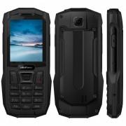 """ulefone armadura mini impermeable IP68 2.4"""" MTK6261D radio FM inalambrica 2500mah 0.3MP dual SIM telefono resistente - negro"""