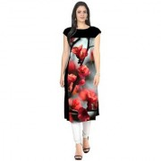 Designer Black Grey and Multi Color American Crepe Digital Printed Full Stitched Kurti for woman and girls(RFOMKT17)