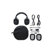 Logitech G433 Wired 40 mm Stereo Headset - Over-the-head - Circumaural - Black
