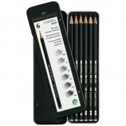 Set creion grafit FABER-CASTELL 9000, 6 buc/set