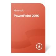 Microsoft PowerPoint 2010 електронен сертификат