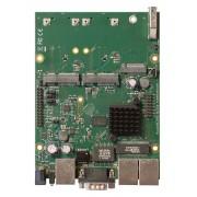 MikroTik MikroTik RouterBOARD M33G with Dual Core 880MHz CPU, 256MB RAM, 3x Gbit LAN, 2x miniPCI-e, 2x SIM slots, USB, microSD slot, M.2 slot, RouterOS L4