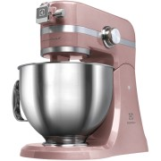 Mixer cu bol Electrolux Assistent Kitchen Machine EKM4610, 1000 W, roz sidefiu