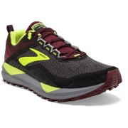 Brooks Cascadia 14 - scarpe trail running - uomo - Black/Red
