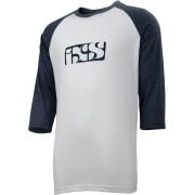 IXS Brand Tee 3/4 T-Shirt Vit S