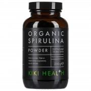 Kiki Health Spirulina Biológica em Pó da 200 g