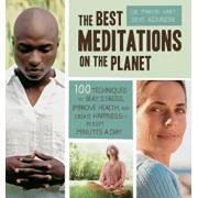 The Best Meditations on the Planet: 100 Techniques to Beat Stress, Improve Health, and Create Happiness - In Just Minutes a Day, Paperback/Martin Hart