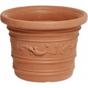 nbrand Vaso Prestige 70x55h Vaso Per Piante In Resina Festonato Da Esterno Tondo Cm 70x55h - Prestige