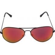 Miami Blues Aviator Sunglasses(Red)