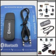 Favourite Deals Car Kit Bluetooth Music Receiver Adapter with Built-in Mic and 3.5mm Aux