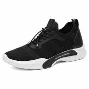 Zapatillas Deportivas Correr Para Hombres De Moda - Negro