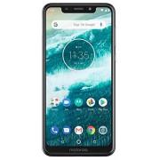 """Motorola One XT1941 5.9"""" HD+ LTE Smartphone Desbloqueado de fábrica (versión Internacional), 32 GB, Blanco"""