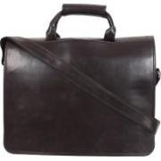 P&Y Fashion MEN'S LAPTOP BAG Brown Messenger Bag