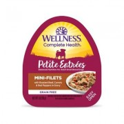 Wellness Petite Entrees Mini-Filets with Beef, Carrots & Red Peppers Wet Dog Food, 3-oz, 24 ct