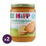 Hipp BIO sütőtök burgonyával, 4 hó+ (2x190 g)