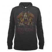 Herren Hoodie Queen - Royal Crest - AMPLIFIED - ZAV390QCC