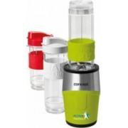 Smothie maker Concept SM3387 500 W 2 x 570 ml + 1 x 400 ml Recipiente tritan Fara BPA Verde