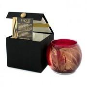 Esque Polished Globe Candle - Cranberry 4 inch Esque Свещ в Рисувана Чаша - Cranberry