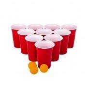 Geen Beer pong drankspel/drinkspel 48 delig