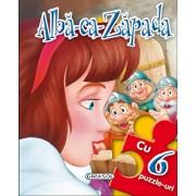 Povesti cu puzzle - Alba ca zapada/***