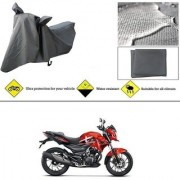 Ronish 100 Waterproof Heavy Quality Bike Body Cover for Standard Size Grey for Hero Xtreme Sports