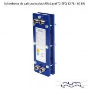 Schimbator de caldura in placi Alfa Laval T2-BFG 12 PL - 60 kW