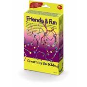 Set Creativity Bratari Si Coliere Friends&Fun Faber-Castell