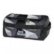 Jack Wolfskin Kulturbeutel Expedition Wash Bag grey geo block