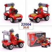 Generic Promotion City Series Police Car Fighter Mini Educational Building Blocks Toys Compatible with legoingly City 6