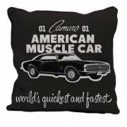 Almofada Carro American Muscle Car Preto GM Chevrolet