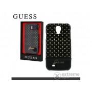 Husă telefon plastic Cg Mobile Guess Gianina Samsung GT-I9500/9505 Galaxy S IV., negru (GUHCS4PEB)