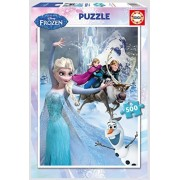 Educa 16267 - Frozen - 500 pieces - Disney Family Puzzle by Disney Frozen