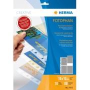 Herma Fotofickor för vykort - 10 blad