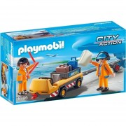 Vehículo De Aeropuerto Para Maletas Playmobil - 5396