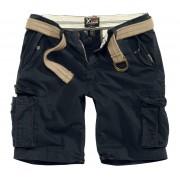 Pantaloni scurți bărbați SURPLUS - XYLONTUM VINTAGE - BLACK - 07-5611-63