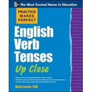 Practice Makes Perfect English Verb Tenses Up Close, Paperback