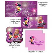 Invitatii Si Magneti Minnie