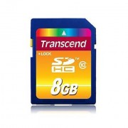 Transcend Memory Card 8gb Sdhc Class 10