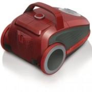Прахосмукачка Gorenje VCEA21GPLRCY, с торба/контейнер, 700 W, 3л. капацитет на контейнера, енергиен клас А, НЕРА филтър, червена