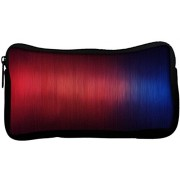 Snoogg Fibers Abstract Poly Canvas Student Pen Pencil Case Coin Purse Utility Pouch Cosmetic Makeup Bag