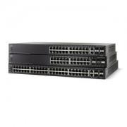 Switch Small Business SG500-52P 48 ports Ethernet 10/100/1000 PoE Administrable niveau 3 + 2 ports combo Gigabit Ethernet SFP + 2 ports SFP