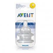Avent Tetina Airflex 1 orificiu x 2