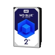 WESTERN DIGITAL Interne harde schijf 2 TB Blue Desktop (WD20EZRZ)