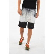 Diesel BLACK GOLD Shorts PAIDAY con Elastico in Vita taglia 44
